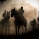 Zirgu svētīšana ar uguni Spānijā